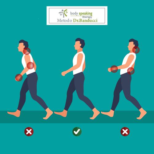 Camminare. I 5 Errori Più Comuni Nell'uso Degli Arti Superiori.